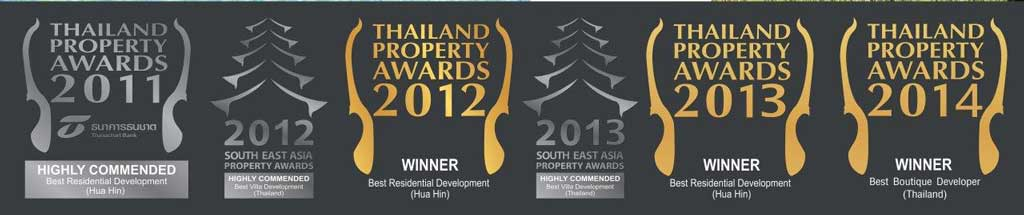 Award Winning Property Developments in Hua Hin, Thailand