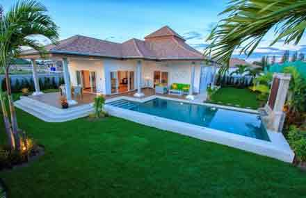 Mali Prestige – Modern Design Award Winning Pool Villas Hua Hin