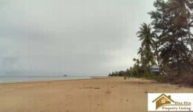 Absolute Beachfront Land For Sale Bang SaPhan 14.5 Rai