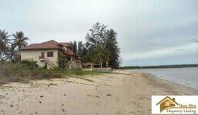 Absolute Beachfront Land In Chum Phon For Sale 4 Rai