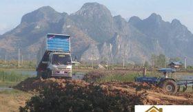 Pranburi Large 40 Rai Plot For Sale Near Khao Kalok Beach