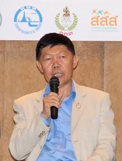 Dr. Tawee Narissirikul, Prachuap Kiri Khan Governor