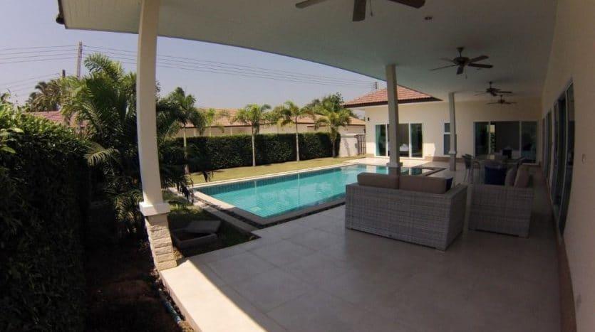Palm Garden Pool Villas Hua Hin In A Small Gated Community