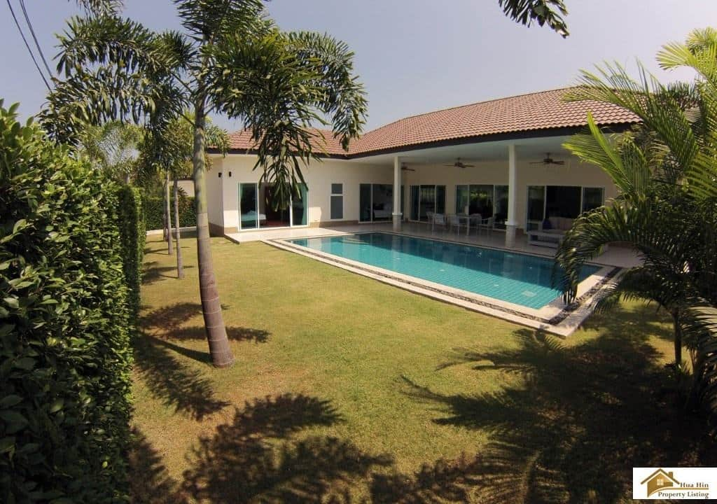 Palm garden pool villas hua hin in a small gated community for Anda garden pool villas