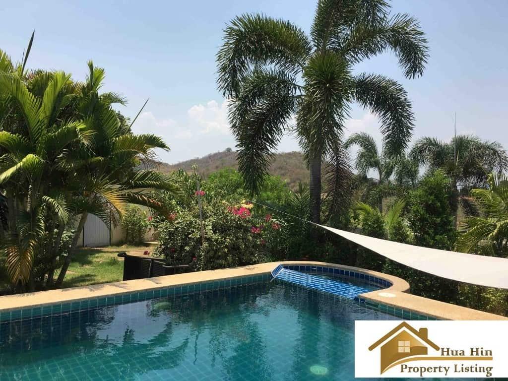 Pool Villa For Sale In Pranburi Green Mountain View