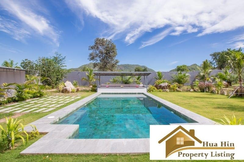 Stunning Hua Hin Property On A Massive Plot Near Black Mountain