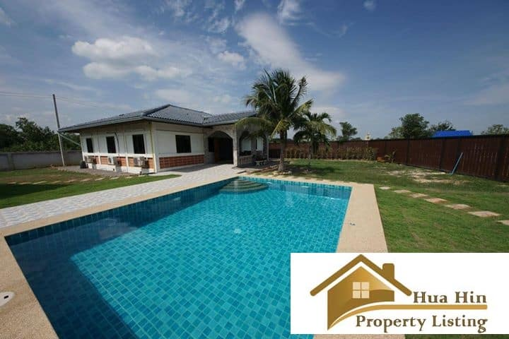 Absolute Bargain Pranburi Pool Villa On A 6 Rai Plot