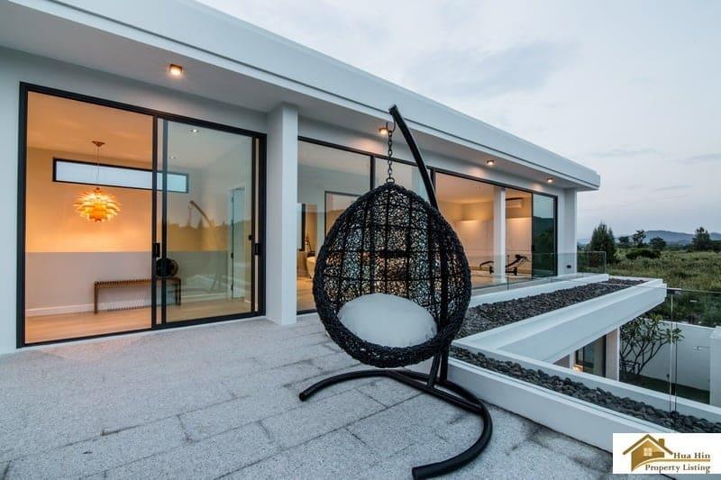 Modern design hua hin private pool villa offering stunning for Outdoor furniture hua hin