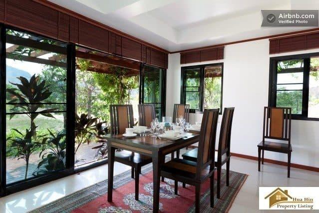 Charming Thai Style Villa Amidst Serene Mountain Scenery