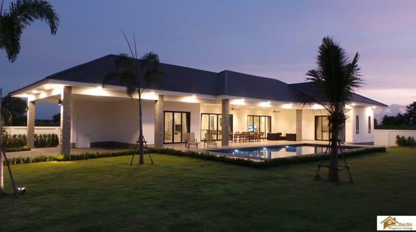 Highland Private Pool Villa Hua Hin – Top Quality Finish