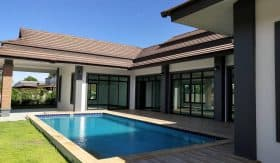 Modern Style 3 Bed Pool Villa For Sale Hua Hin