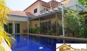 Hua Hin 3 Bed Pool Villa For Sale In Soi 94 – Private & No Common Fee
