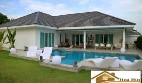 Modern 4 Bed Pool Villa For Sale In Khao Tao & Pranburi Area