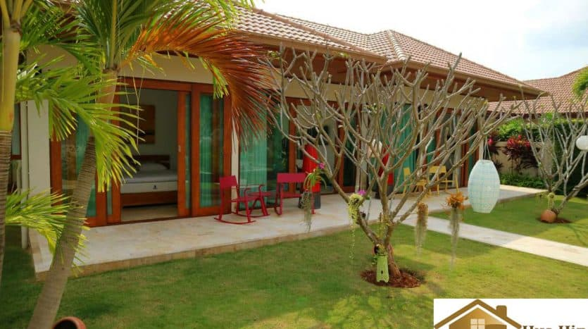 Stunning Pool Villa With 4 Bed Near Khao Kalok Beach For Sale