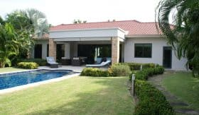 Baan Ing Phu Private Estate Modern Park Villa For Sale Hua Hin