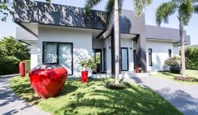 Minimalistic Design Hua Hin Villa In Baan Ing Phu For Sale
