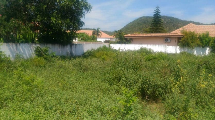 Stand Alone Hua Hin Land Plot In Residential Area